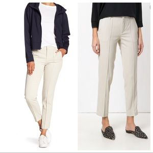 Vince Fromt Stitch Cropped Trouser Pants Sz 12